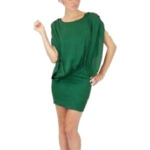 Foley and Corinna green dress!